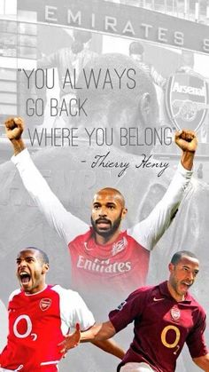 Thierry Henry #Arsenal #Legend #KingThierry