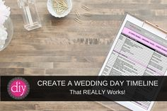 CREATING A WEDDING DAY TIMELINE THAT ACTUALLY WORKS! Of of the most asked questions is how you go about creating a wedding day timeline. This blog post has a video tutorial that walks you through the exact steps you need to take in order to create a wedding day timeline that works.