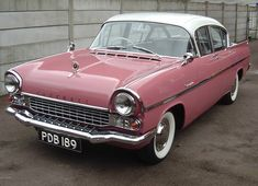 Next came a redesigned Vauxhall Cresta (1958), which looked maybe like a child's version of an Oldsmobile 88. It not only had a panoramic windshield, but boasted small tail fins and a two-tone paint job.