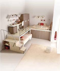 Interior Design Ideas for Girls' Bedroom - very modern