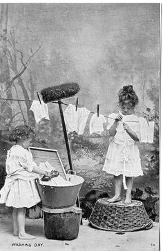 Washing Day by PeaTJay, via Flickr | Washer Odor? | Smelly Towels? | Stinky Clean Laundry? | http://WasherFan.com | Permanently Eliminate or Prevent Washer & Laundry Odor with Washer Fan™ Breeze™ | #Laundry #WasherOdor