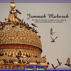Have a Blessed Jummah!  #CakesandBakes #foodies #health #Jumma #mubarik  www.instagram.com/cakesandbakespk www.twitter.com/CakesandBakesPK