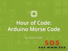 Hour of code: Arduino Morse Code - 123D circuits