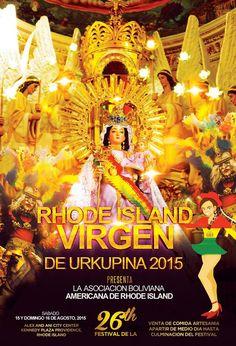 Rhode Island Virgen De Urkupina Festival 2015 - family Festival - 400 Dancers -