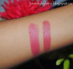 Pearls and Red Lips: MAC Lipstick Twig & Rimmel Lasting Finish by Kate 104| Reviews|Dupes|Comparison| Swatches|