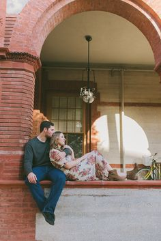 St. Augustine Engagement | Flagler College and St. Augustine Pier  Daybreak Photo Co | St. Augustine Wedding Photographer
