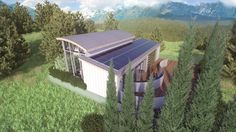 SILO is being designed by Missouri S&T for relaxation and rejuvenation, all powered by the sun.