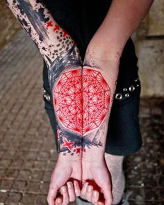 Watercolor Tattoos ~ Damn Cool Pictures