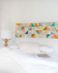 DIY: ideas para decorar las paredes del dormitorio - Contenido seleccionado con la ayuda de http://r4s.to/r4s