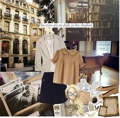 """While you wave goodbye I'll be getting closer"" by bellalovestea ❤ liked on Polyvore"
