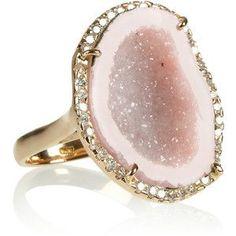 Kimberly McDonald 18-karat rose gold ring