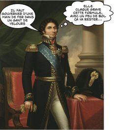 """Bernadotte : """"Une main de fer dans un gant de velours""""."""