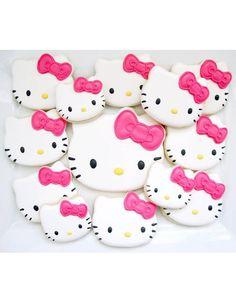 Cookies chocolat Hello Kitty
