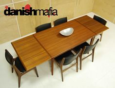 Mid Century Modern Dining Room Table Set Home Design Ideas In Prepare On Deck Danish