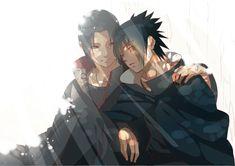 Naruto | Itachi and Sasuke. The brothers T-T