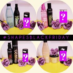 Black Friday buy any two redken products and receive a third lucky dip product worth upto the value of £29!  Available while stocks last in both salons #shapesblackfriday #offersforchristmas #salonsleicester #birstall #oadby