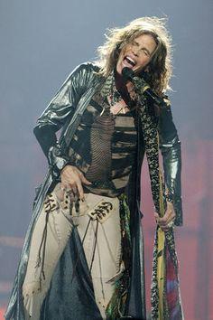Steven Tyler of Aerosmith at the New Orleans Arena on Thursday, December 6, 2012, in New Orleans. (Erika Goldring Photo)
