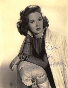 "Susan Hayward publicity still for ""House of Strangers"""