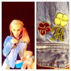 """✂️SALE:Hollister distressed denim w/embroidery Super cute Hollister distressed denim jacket w/ embroidered beading of the """"Hollister"""" logo w/ palm trees & flowers. It's size is juniors large, but it definitely fits a women's size small. Please note: that the """"distressed"""" small holes look is how or was purchased new. Still in good condition, but does have holes (that are supposed to be there👍- and one that stretched a little in elbow..stretched a little bit more) hence the low price... Great…"""