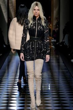 See the latest collection from Balmain Fall 2016