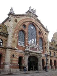 Budapest Market facade, Hungary - best place to shop and shop and . My House In Budapest, Market Hall, Capital Of Hungary, Hungary Travel, Heart Of Europe, Danube River, Shopping Places, Central Europe, Bratislava
