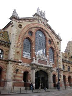 Budapest Market facade, Hungary