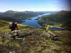 On top of Stornattin Mountain, Uvdal Norway