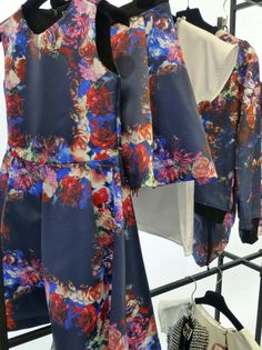 Beautiful winter florals for girls from MSGN new kids fashion launch for fall 2014