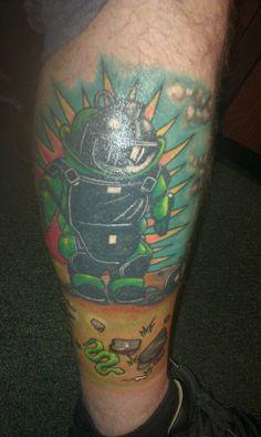 #eod tattoo