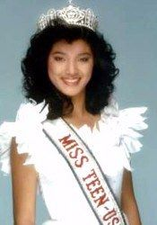 Kelly Hu was Miss Teen USA in 1985.  A former Miss Hawaii, she also competed in the Miss USA pageant.  She is an accomplished movie and television actress.