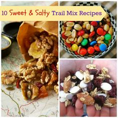 10 Salty & Sweet Trail Mix Recipes