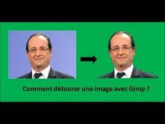 Comment détourer une image avec Gimp ? - YouTube