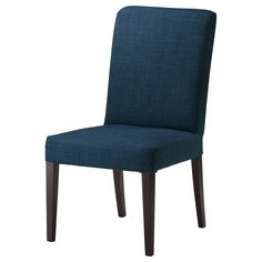HENRIKSDAL Chair - Skiftebo dark blue, brown-black - IKEA, Chairs--so comfortable