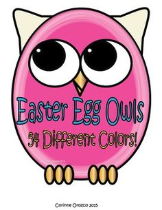 I am offering this HUGE 108 EASTER EGG OWL CLIP ART BUNDLE!!!! All images are in png AND jpeg formats so they can easily be layered in your projects and lesson materials. Clip Art by Corinne is created by Corinne Orozco. All free and paid graphics may be used for personal and commercial use.