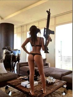 What Girl with guns xxx
