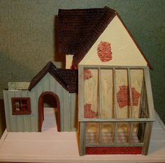 "Neville's Cottage, 1/4"" scale 