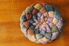 Ravelry: Knit Entrelac Hat pattern by Lorraine J Major