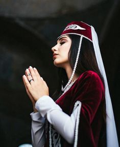 Armenian Culture, Ethnic Fashion, Historical Clothing, Georgian, Traditional Outfits, Namaste, Lady, Pretty, Beautiful