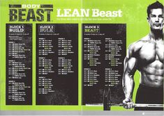body beast workout schedule | Monday! Pushing really hard with Body beast (Chest and tris), at last ...