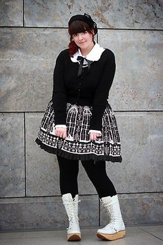 Jessie Dresses Up | My Top Five Plus Size Lolita Inspirations