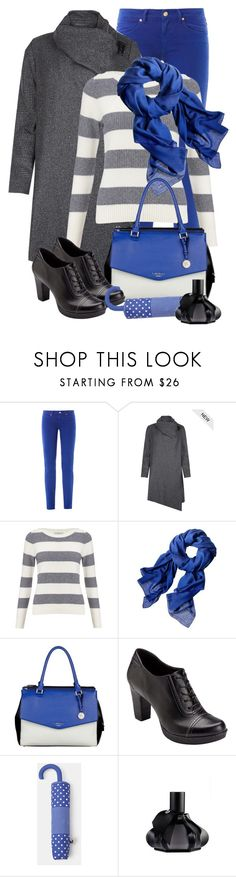 """rainy day"" by sagramora ❤ liked on Polyvore featuring Versus, AllSaints, John Lewis, Reed Krakoff, Lipsy, Rockport, MANGO and Comme des Garçons"