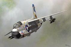 Corsario 2,  es un avión de ataque creado para portaaviones.