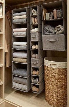 59 DIY Clever Closet Design Organization Ideas Trending Right Now - Best Picture For house ideas For Your Taste You are looking for something, and it is going to tel - Closet Bedroom, Bedroom Decor, Organize Bedroom Closets, Hallway Closet, Ikea Bedroom, Master Closet, Closet Space, Design Bedroom, Girls Bedroom