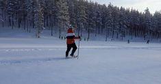 Lumikenkäilyä Rokualla - vuoden retkikohteessa