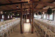 Mesa imperial rústica en una boda que hicimos en Can Mora