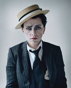 Drag King-ing ~ Scarlett Johanssen as Buster Keaton