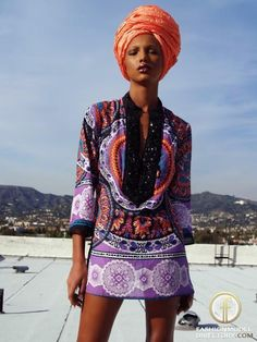Afrocentric Style..I like the color combo