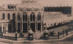 Frontó Barcelonès. Carrer de la Diputació cantonada Sicília. 1893. Barcelona, Catalunya. Espanya.  http://barcelofilia.blogspot.com.es/
