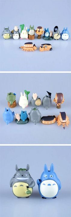 10 Pc. My Neighbor Totoro Figurine Set | dotandbo.com #DotandBoHoliday