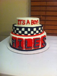 race car themed baby shower cake more race cars baby shower cakes baby